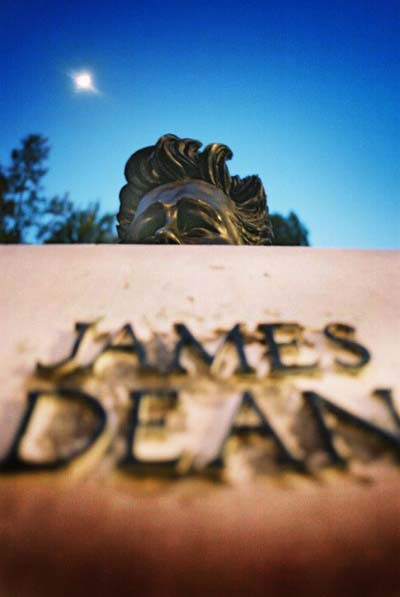 James Dean statue, Griffith Park Observatory, Los Angeles