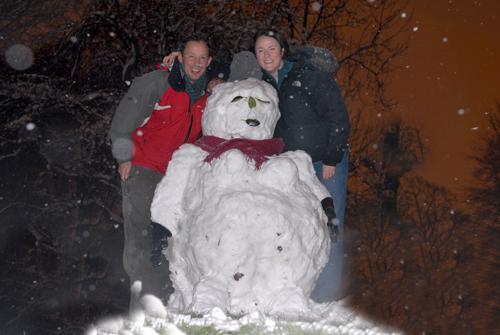 The virgin snowman