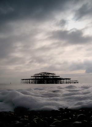 West Pier at Brighton
